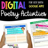 Poetry Activities - Digital for Google Slides | Distance Learning