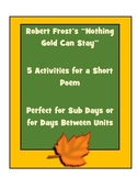 Poetry Activities- Perfect for Fall