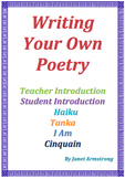 Poetry Activities for Students: Writing Your Own Poetry