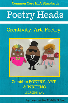 Poetry Activity - Common Core Aligned Grades 4-8+