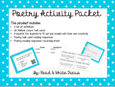 Poetry Activity Packet