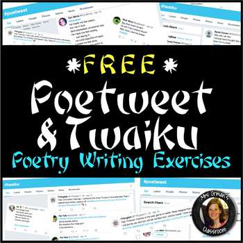Free Download Poetry Activity Twitter-Style: Writing a Poe