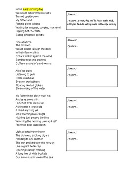 Poetry Activity: Writing with Sensory Details