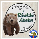 Back to School Poetry Activity for A Remarkable Adventure by Jack Prelutsky