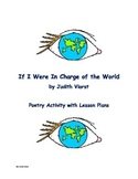 Poetry Activity with Judith Viorst's If I Were In Charge o