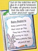 Alphabet Activities Poetry Book, (Fill in the Blanks) With