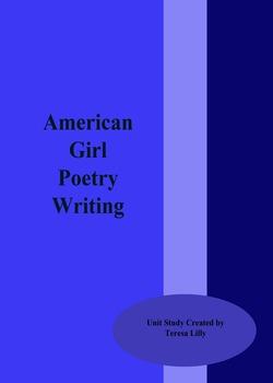 Poetry: American Girl Poetry Writing