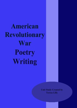 Poetry: American Revolutionary War Poetry Writing