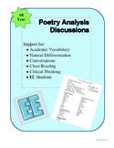 Poetry Analysis 1 page support
