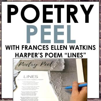Poetry Analysis Activity: A Poetry Peel for Frances Ellen Watkins Harper