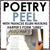 Poetry Analysis Activity: A Poetry Peel for Frances Ellen
