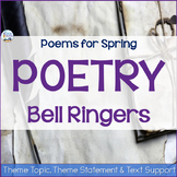 Poetry Analysis Bell Ringers for Spring