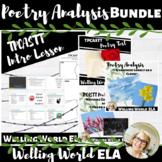 Poetry Analysis Bundle
