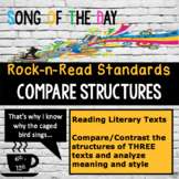 Standards Based Mini-Lesson:  Text Structure, Song of the Day