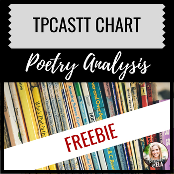 Poetry Analysis Chart-- TPCASTT