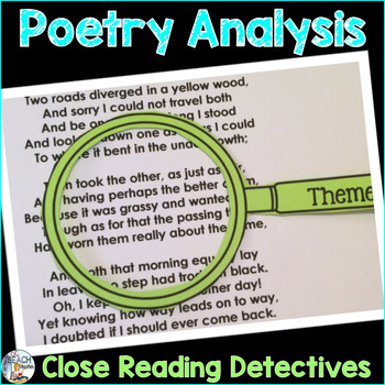 Poetry Analysis & Close Reading