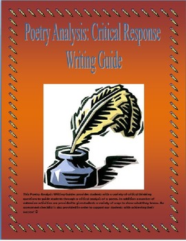 Poetry Analysis: Critical Response Writing Guide