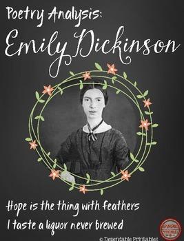Poetry Analysis:  Emily Dickinson