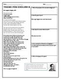 Poetry Analysis- Harlem Renaissance Poets ( 4 Worksheets)