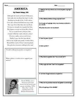 32 Poetry Analysis Worksheet Answer Key - Worksheet ...