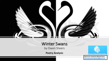 Poetry Analysis Lesson: Winter Swans by Owen Shears