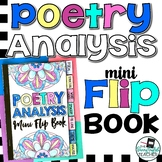 Poetry Analysis Mini Flip Book (a sticky note book for rhetoric)