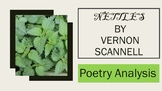 Poetry Analysis: Nettles by Vernon Scannell