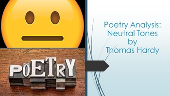 Poetry Analysis: Neutral Tones by Thomas Hardy