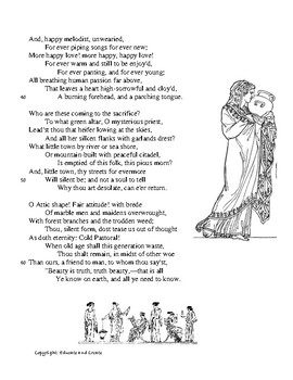 Poetry Analysis: Ode to a Grecian Urn