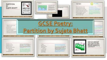 Poetry Analysis: Partition by Sujata Bhatt