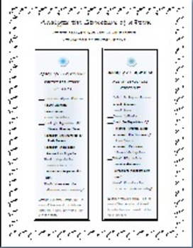 Poetry Analysis Printables For Any Poem