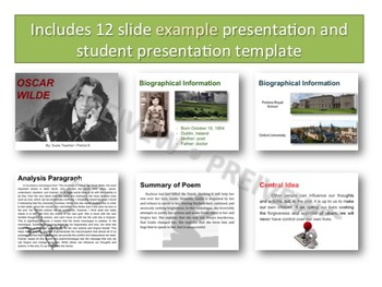 Poetry Analysis Project Presentation