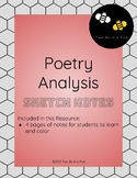 Poetry Analysis Sketch Notes