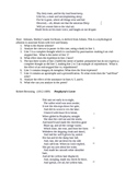 Poetry Analysis Student Handbook for AP Literature and Composition