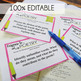 Poetry Analysis Task Cards, Response to a Text, Analysis of any Poem