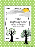 """Poetry Analysis Unit - """"The Highwayman"""""""