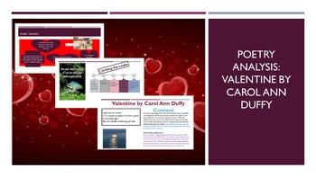 Poetry Analysis: Valentine by Carol Ann Duffy
