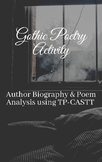 Poetry Analysis and Biography