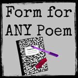 Poetry Analysis for any Poem