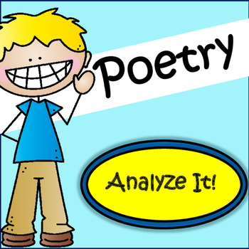 Poetry: Analyzing Poetry Grades 4-6