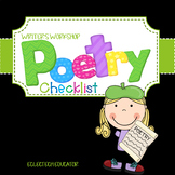 Writing - Poetry - Anchor Charts, Checklists, and Exemplars