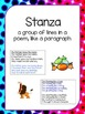Poetry Anchor Charts and Worksheets