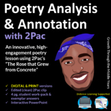 Poetry Annotation and Analysis with 2Pac (Distance Learnin