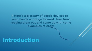 Poetry Around The World: Exploring Rhetorical Devices