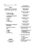 Poetry Assessment