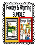 Poetry BUNDLE: Poetry Activities Unit AND Rhyming Activities Unit BUNDLED!