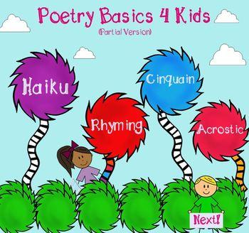 Poetry Basics 4 Kids