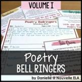 Poetry Bell Ringers Volume 1