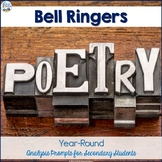 Poetry Bell Ringers Bundle