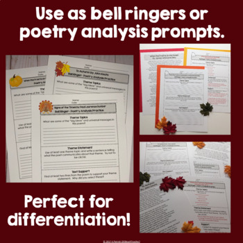 Poetry Bell Ringers for Autumn & Thanksgiving